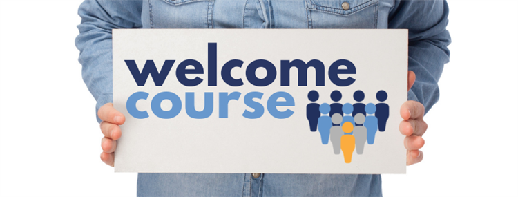 Welcome course - powerpoint im